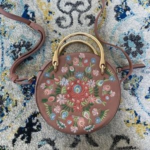 Target Universal Thread Floral Crossbody Purse